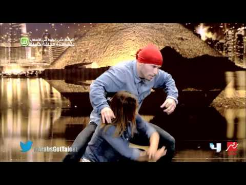 Arabs Got Talent - تجارب الأداء - مهدي وصوريا