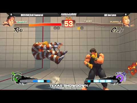 MC5150 XsX Samurai vs AB Joe Love - Super Street Fighter IV AE 2012 (Texas Showdown)