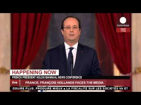 EN DIRECT : Conférence de presse de François Hollande