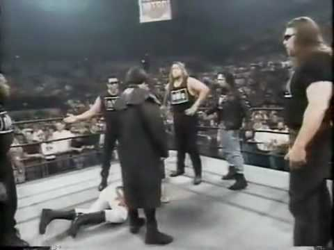Stings debut in black and white (WCW Nitro October 21st, 1996)