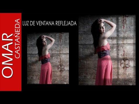PHOTOSHOP CS5 LUZ DE VENTANA REFLEJADA