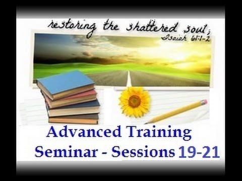 SRA / DID Advanced Training Sessions 19 - 21
