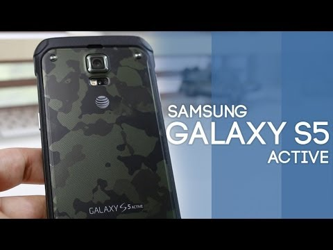 Samsung Galaxy S5 Active Unboxing & Review