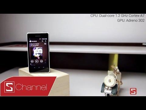 Trên tay nhanh Xperia E1: Điện thoại Walkman giá rẻ