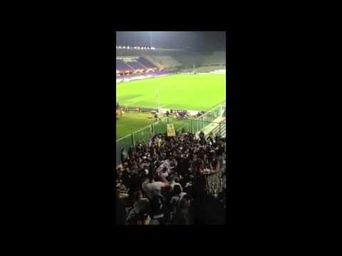 Fiorentina  vs Juventus 0-1 settore ospiti 20/03/2013 la perla di Pirlo
