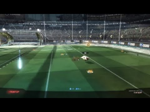 How I Improve My Skills , Freestyle Skills in Rocket League ( Training Goals ) Part 1