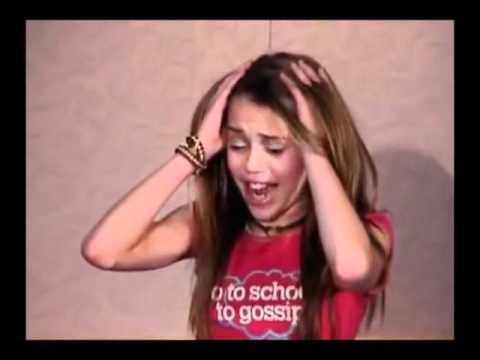 Miley cyrus hannah montana audition tape youtube - Prenom hannah ...