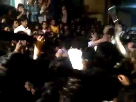 Meerut Azadari Qama Talwar ka matam in 8 Moharram juloos at Ghanta ghar