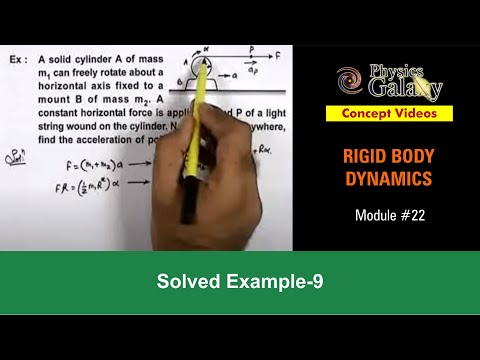 Solved Example on Rotational Motion (ROT12X5)