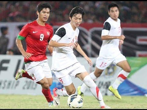 Nguyễn Tuấn Anh (U19 Việt Nam) vs U19 Indonesia - 13/8/2014