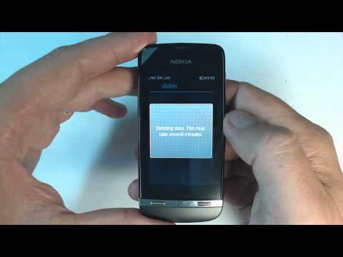 Nokia Asha 311 factory reset