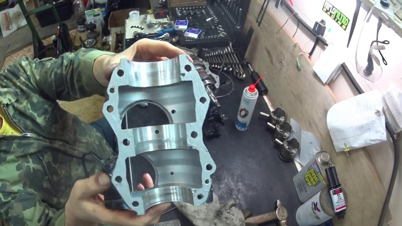 разобрать ниссан марина лодочный мотор