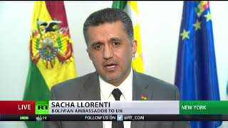 'US believes & acts as if it's above any law' - Bolivian envoy to UN