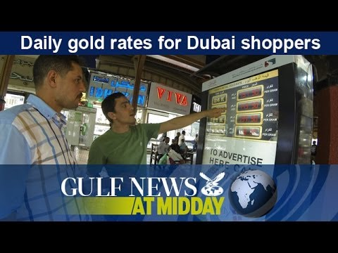 Daily gold rates for Dubai shoppers - GN Midday