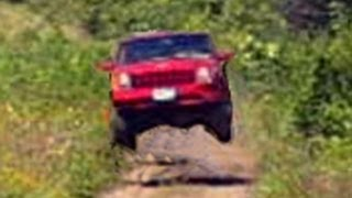 Jeep Abuse XJ Cherokee 4x4 Jump, Donut, Drift, Burnout