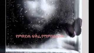 """Aster Aweke - Hode Terebeshe """"ሆዴ ተረበሸ"""" (Amharic)"""