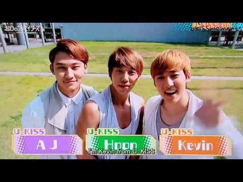 [ENG] U-KISS Fukuoka Interview - AJ, HOON & KEVIN -