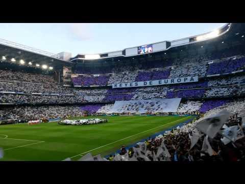 Real Madrid-Bayern Munich (1-0) |Salida e Himno Champions│SF 2013-2014