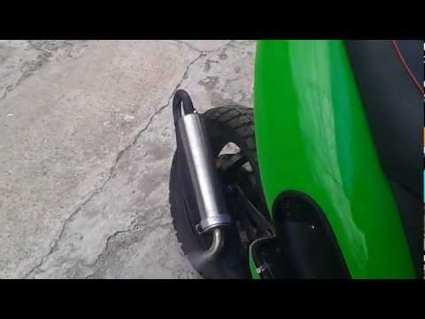 Malaguti f12 malossi sport+yasuni c16 test