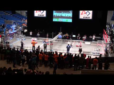 2014 FRC Silicon Valley Regional Qualification Match 45