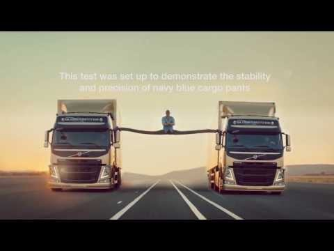 Guile vs Dhalsim: Volvo Van Damme Epic splits