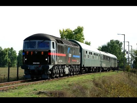Mercia Charters railtour in Hungary, 2013 (HD)