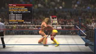 WWE 2K14 30 Years Of Wrestlemania Ultimate Warrior Vs Hulk