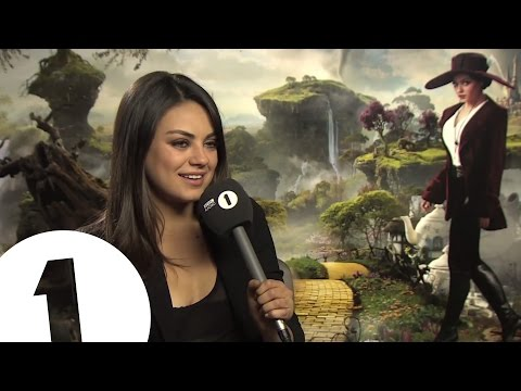 Mila Kunis talks to Chris Stark off the Scott Mills show on Radio 1