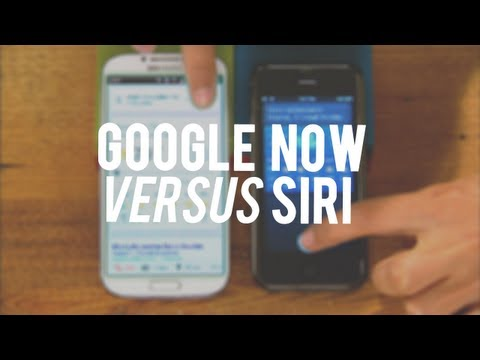 Google Now vs. Siri: The results speak for themselves
