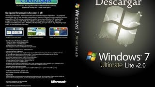 Descargar Windows 7 Lite MEGA