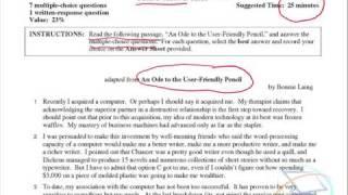 examination essay sample