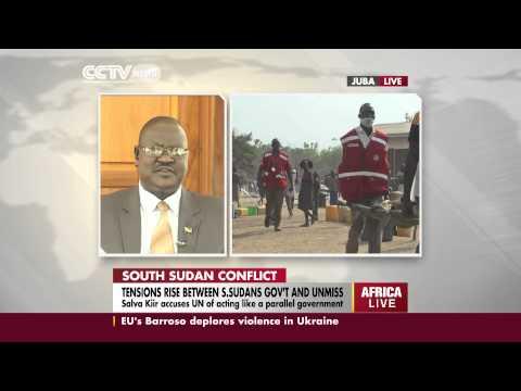 President Kiir's spokesperson talks on South Sudan conflict