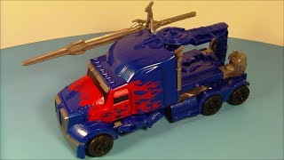 TRANSFORMERS 4 SMASH And CHANGE OPTIMUS PRIME AGE OF