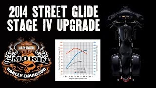 2014 Street Glide Stock Vs. Stage IV Engine Upgrade