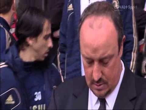 任教車路士時的賓帥在利物浦主場喊出黎!