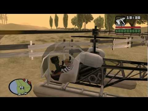 GTA San Andreas - #27: Bullying dos helicópteros
