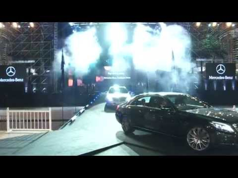Laureus World Sports Awards 2014 - Mercedes-Benz S-Class Launch | AutoMotoTV