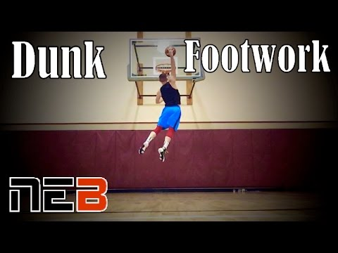 Dunk Footwork | LR vs RL Plant | Nick Edson