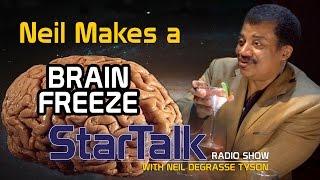 Neil deGrasse Tyson Makes a Brain Freeze