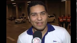 Torcedores cruzeirenses mandam recado para Bolivar