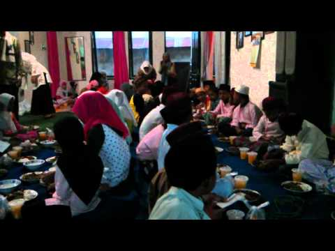 Orphans and community iftar meal