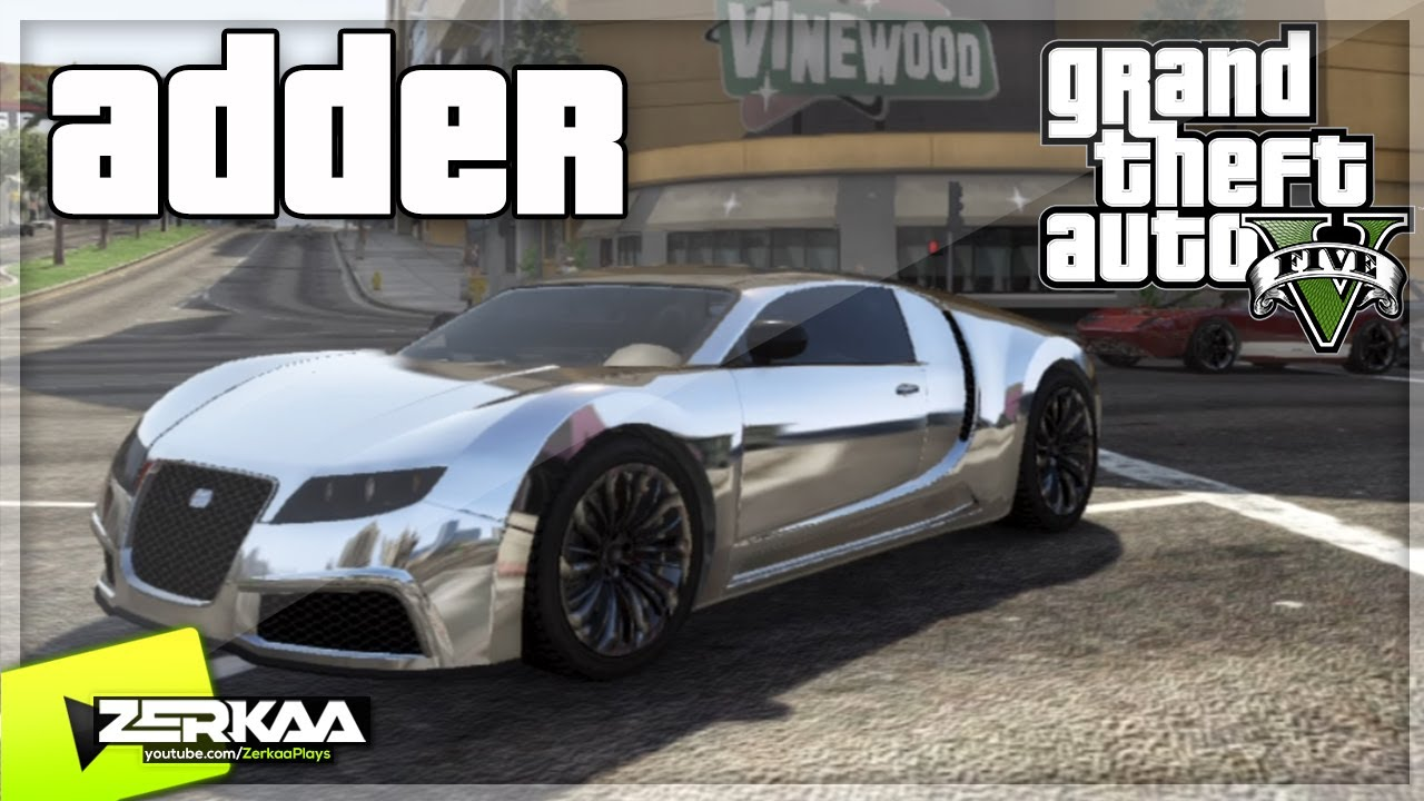 gta v secret car location adder bugatti veyron. Black Bedroom Furniture Sets. Home Design Ideas