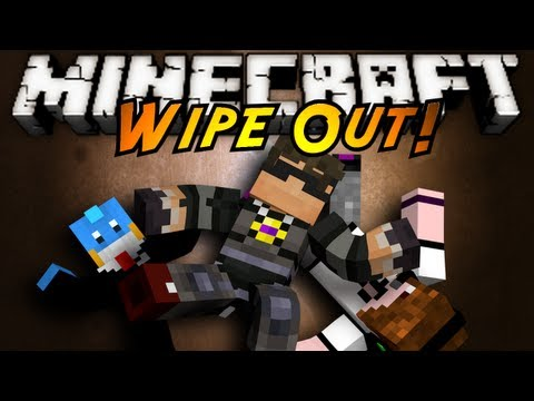 Minecraft Mini-Game : WIPE OUT!,