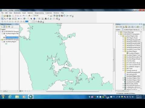 How to make a shape file for Arcmap GIS using latitude longitude coordinates in an excel table