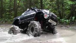 RC ADVENTURES Scale Trucks #8 Mudding With A TAMiYA