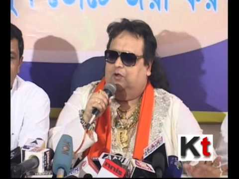 Bappi Lahiri at BJP Press Conference
