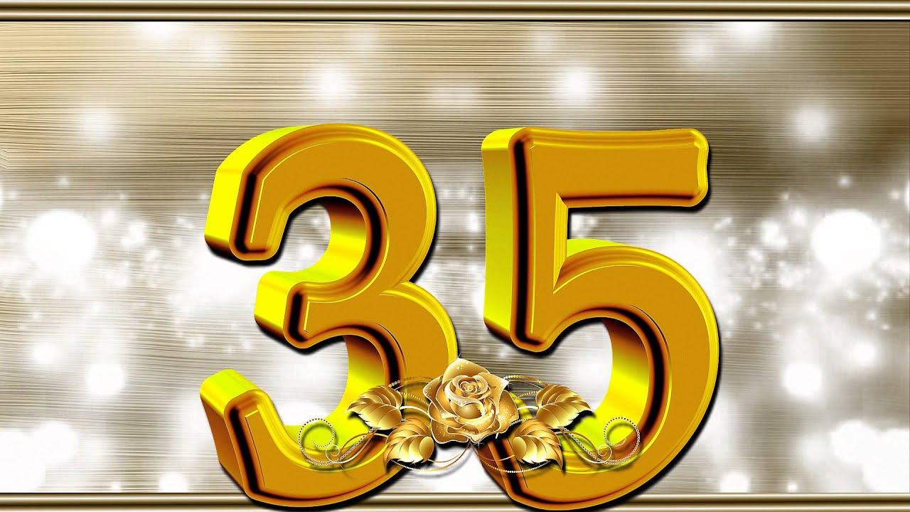 Поздравление с днем 35 летия 48