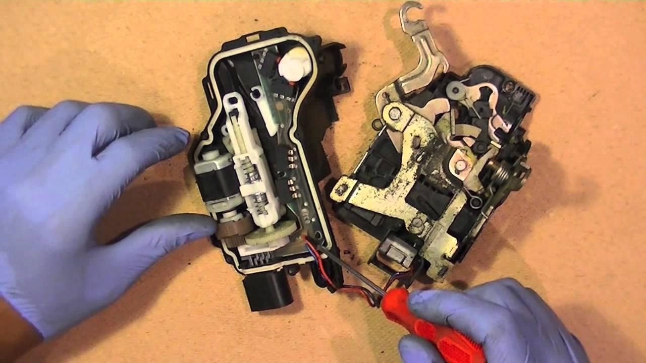Vw Door Lock Control Module Fix Repair Simple Easy Repair