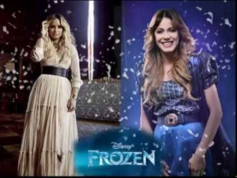Demi Lovato & Martina stoessel  let it go /libre soy