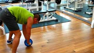 How To Build Strong Abdominal Muscles Ab Roller Exercise